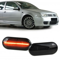 VW Bora Golf Polo Seat Ford tummat LED lightbar sivuvilkut